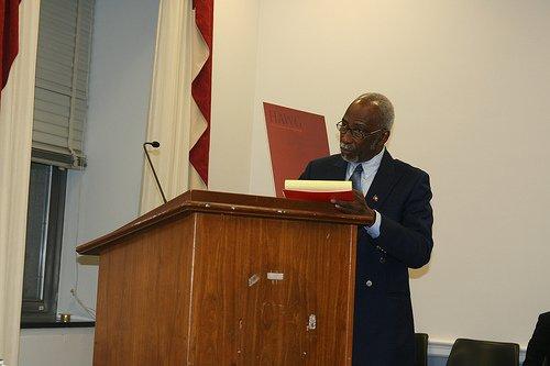Ancien Ministre de la Justice, Rene Magloire